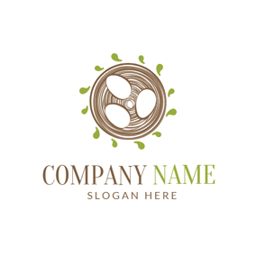 White Egg and Bird Nest logo design
