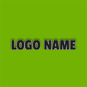 Wide Regular and Black Font Style logo design