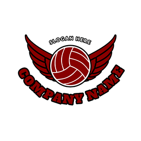 Wings With Netball logo design