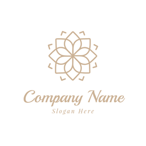 Yellow Flower and Jewelry logo design
