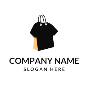 Wonderful ... Yellow Handbag And Black T Shirt Logo Design