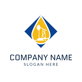 Yellow Oil and Gas logo design