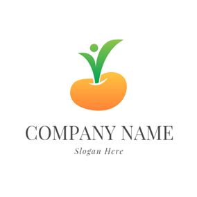 Yellow Sapling and Yellow Seed logo design